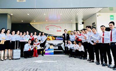 Kỷ niệm ngày 31/5, giao xe Toyota Vios 1.5G cho khách hàng Lê Tấn Đạt