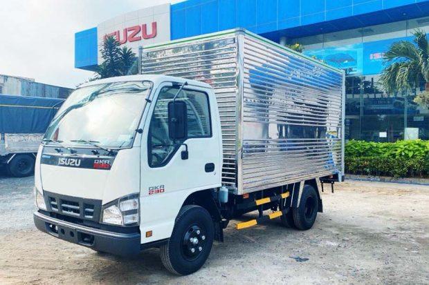 Xe tải Isuzu QKR 230 Cần Thơ: Xe tải 2.4 tấn Nhật Bản