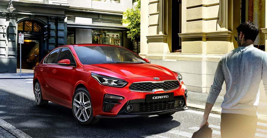 """Áp dụng thiết kế """"Fastback"""" lấy cảm hứng từ Kia Stinger, All-New Cerato sở hữu kích thước rộng và lớn nhất phân khúc C-Sedan"""