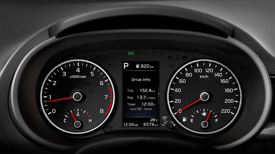 Màn hình đa thông tin LCD 4.2 - Cung cấp nhiều thông tin hơn trên nền giao diện trực quan, rõ nét, tăng tính cao cấp cho xe