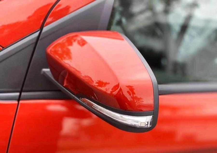 Gương chiếu hậu chỉnh điện tích hợp đèn báo rẻ
