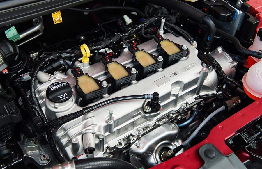 Động cơ 1.4L - Công suất tối đa 98 HP - Hộp số CVT