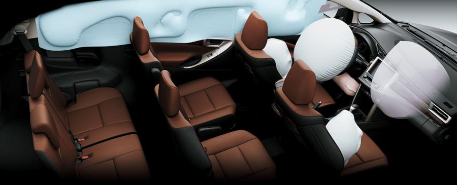 Hệ thống túi khí của Toyota Innova