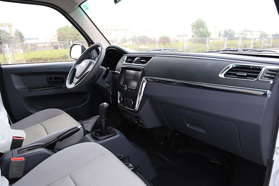 Nội thất của xe khá rộng thoáng, sang trọng, tiện nghi.