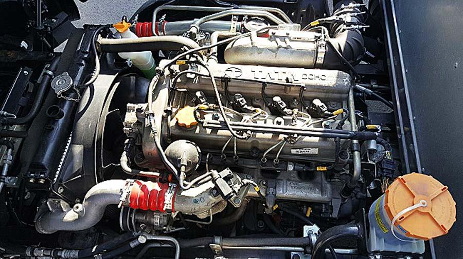 Động cơ phun nhiên liệu 3L thế hệ mới, bền bỉ & tiết kiệm