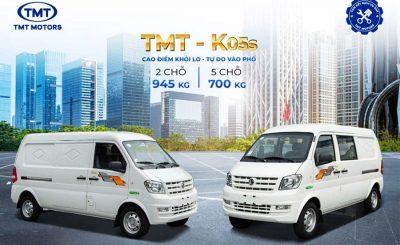 Xe tải van DFSK K05S - TMT TATA Cần Thơ