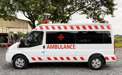Mẫu xe cứu thương Ford Transit Cần Thơ - Miền Tây