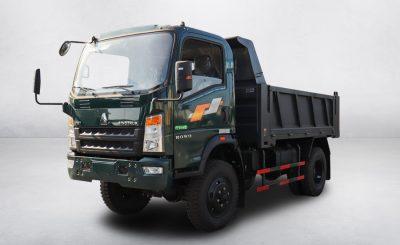 Xe tải ben Howo 650D2 (6.5 tấn) | 3S TMT Cần Thơ
