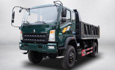 Xe tải ben Howo 850D2 (8.5 tấn) | 3S TMT Cần Thơ