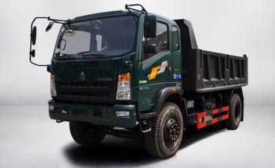 Xe tải ben Howo 950D (8.8 tấn) | 3S TMT Cần Thơ